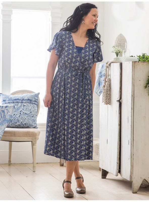 Market Dress in Navy by April Cornell