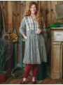 Genevieve Dress in Charcoal Check by April Cornell