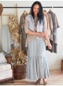 Burnette Skirt in Cloud by April Cornell