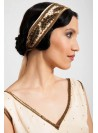 Barrymore Headpiece in Creme by Tilda Knopf