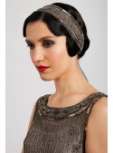 Myrna Headpiece in Grey - SOLD OUT