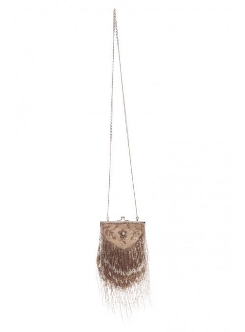 Ramona Handbag in Beige by Tilda Knopf