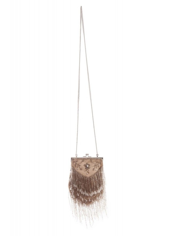 Ramona Handbag in Beige by Tilda Knopf