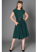 Peggy Dress in Green - SOLD OUT