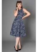 Birdie Dress in Navy - SOLD OUT