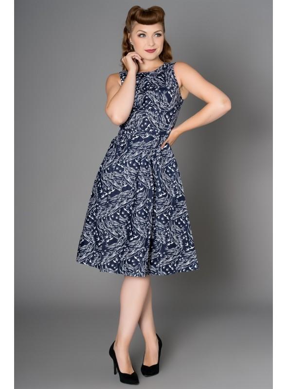 Birdie Dress in Navy by Sheen Clothing