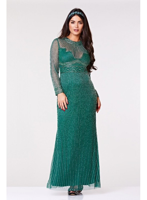 Cleopatra Gown in Green