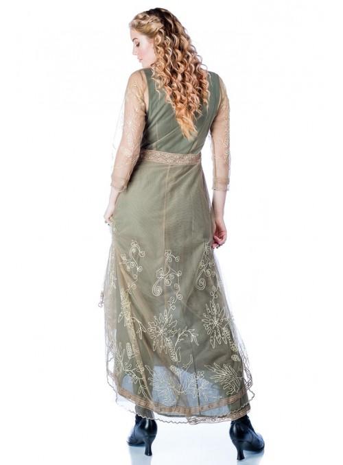 Renee 1920s Flapper Dress in Rose