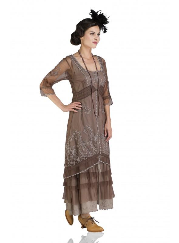 1920s Veil Fascinator in Black