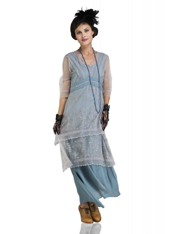 Vintage Titanic Tea Party Dress 5901 in Sunrise by Nataya