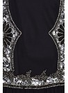 Paris 1920s Flapper Dress in Black