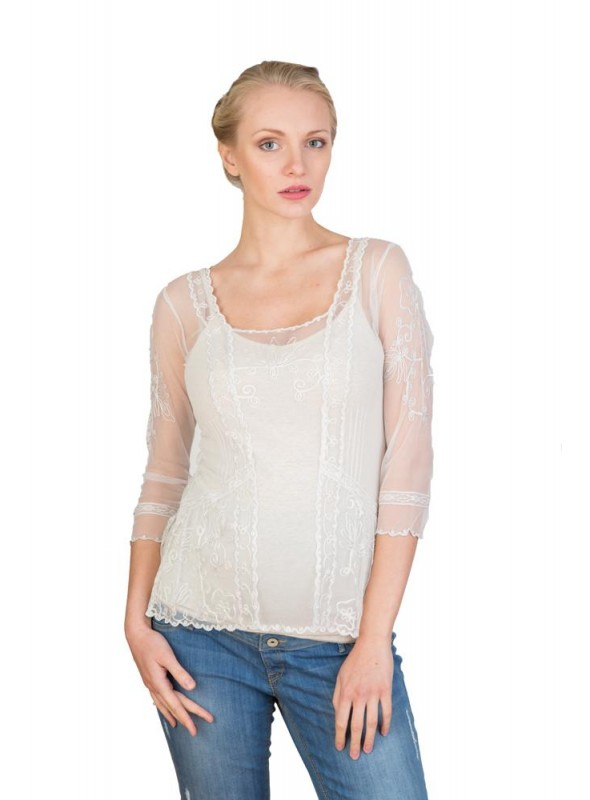 CT-221 Top in Ivory