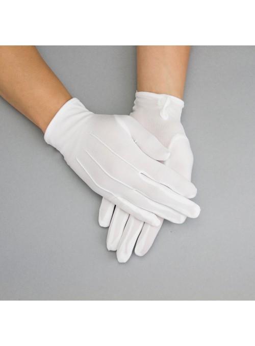 Penelope Gloves in White