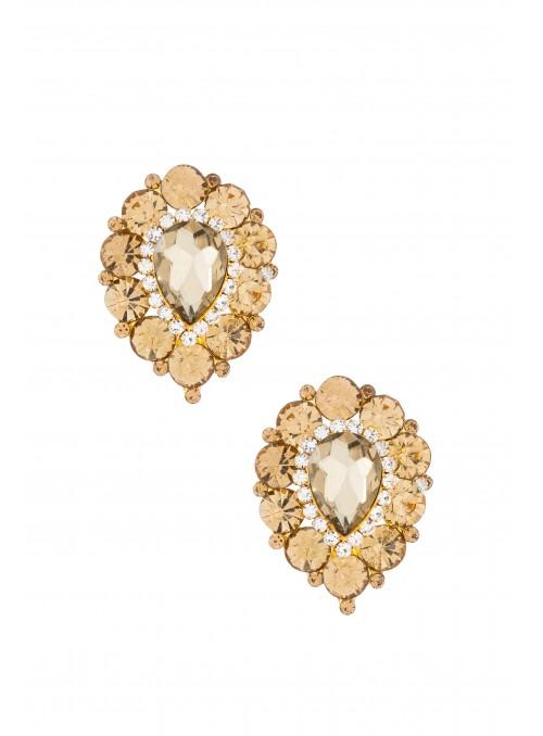 Savoir Vintage Earrings in Gold