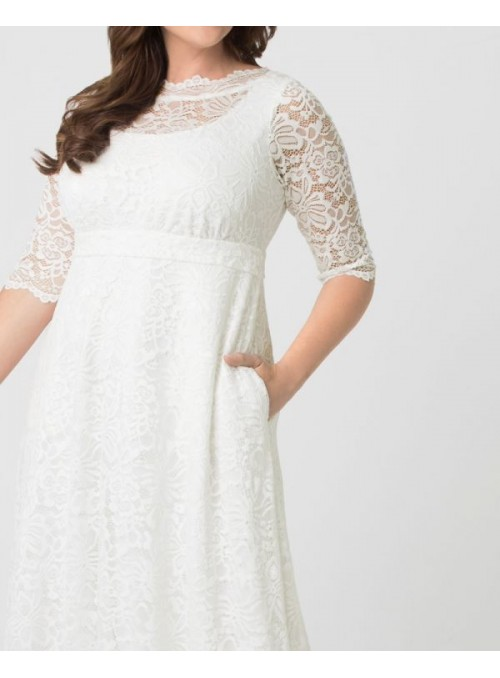 Somewhere in Time Dress CL-509 in Sand by Nataya