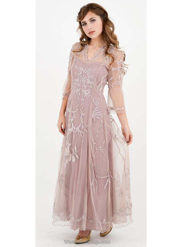 Sultry Elizabeth Wedding Dress in Amethyst by Nataya - SOLD OUT