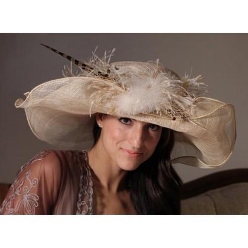 Lady Alexandra hat by Louisa Voisine Millinery