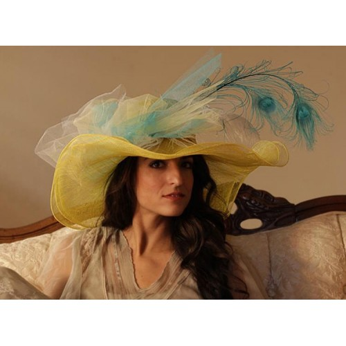 Lady Laura hat by Louisa Voisine Millinery