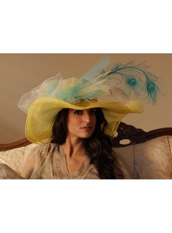 Lady Laura hat by Louisa Voisine Millinery - SOLD OUT