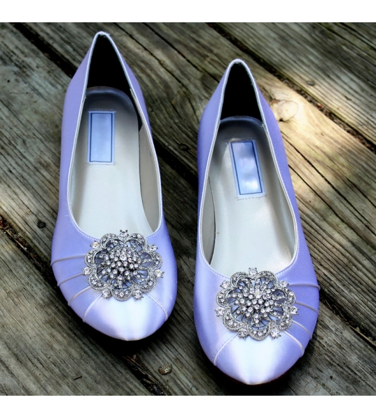 "Vintage inspired ballet flats, Model ""Lillian"" - SOLD OUT"