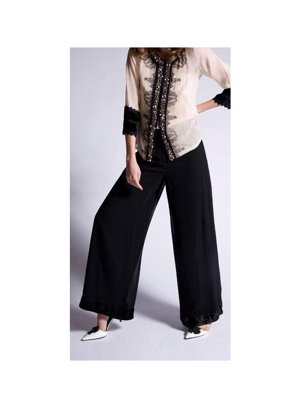 Plazzo Vintage Style Pants by Nataya - SOLD OUT