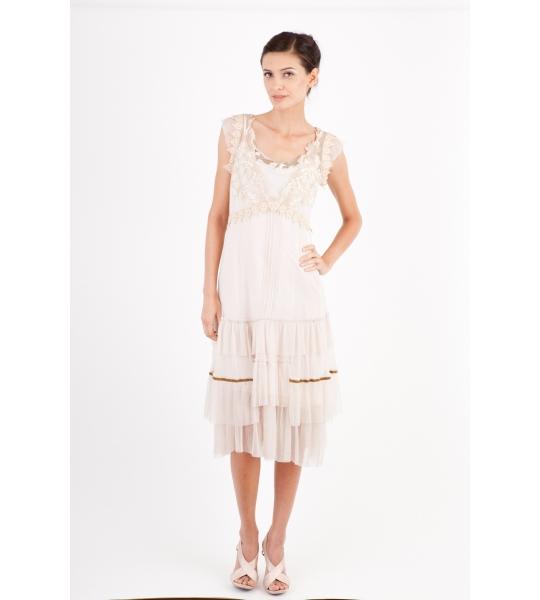 Nataya Spring Pink Dress - 195