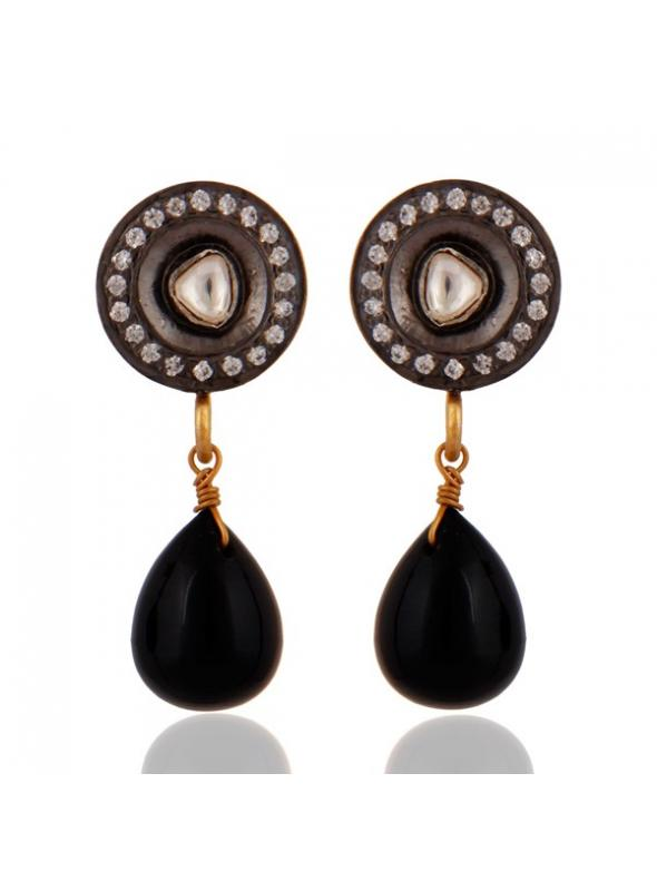 Almas Earrings - RAJE0258SLZWXB