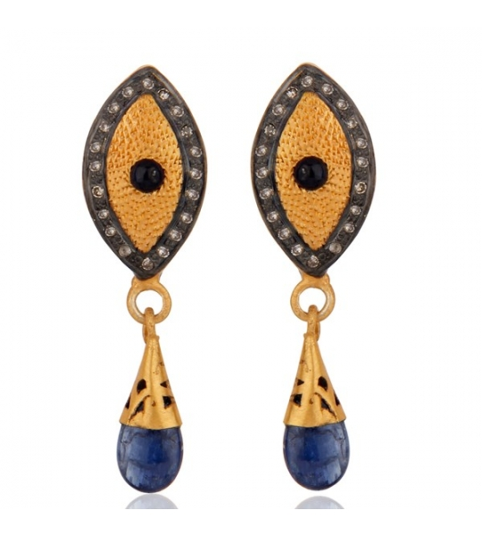 Almas Earrings - DWSDE0072SLDISP