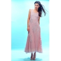 Amazing Grace Edwardian Wedding Dress in Pink by Nataya - SOLD OUT