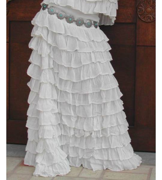 Flamenco Ruffled Skirt by Marrika Nakk
