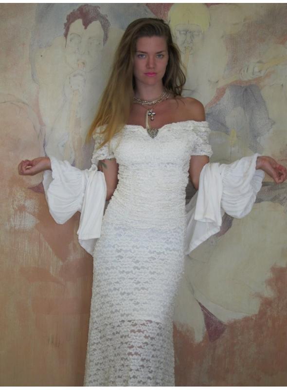 Rouched Corset Dress by Marrika Nakk