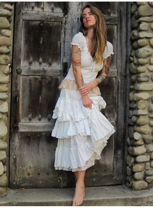 Western Saloon Skirt by Marrika Nakk