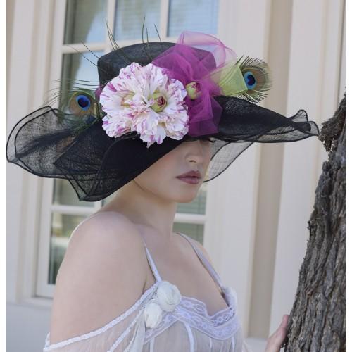 Lady Erin Hat by Louisa Voisine Millinery