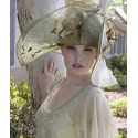 Butterfly Dreams Hat by Louisa Voisine Millinery - SOLD OUT