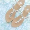 Hera Bridal Sandals