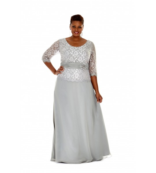 Vintage Style Mother of the Bride Evening Gown by Sydney's Closet