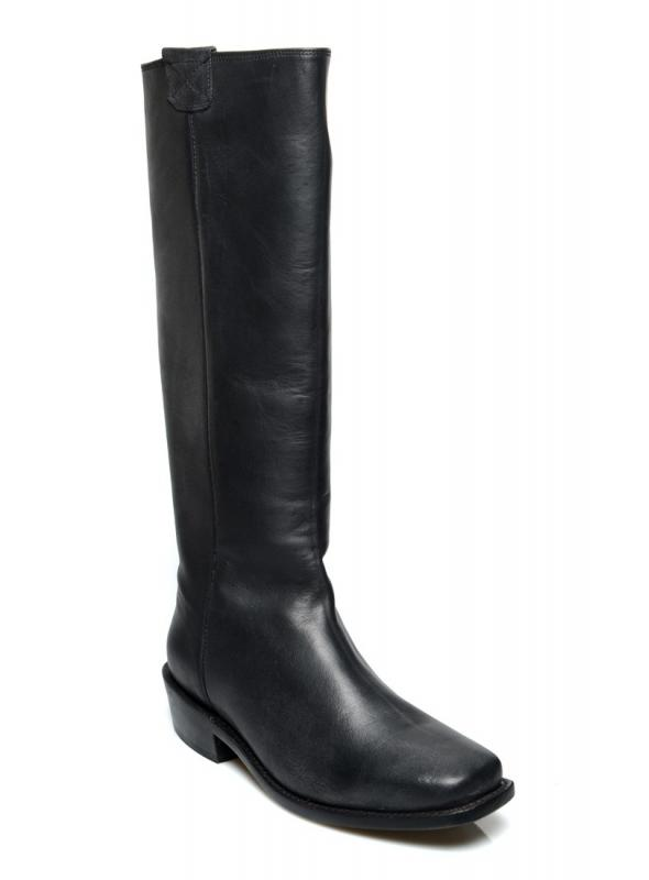 Vintage Style Granny Boots in Black by Oak Tree Farms