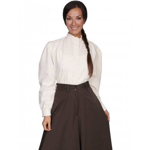 Old Western Blouse in Ivory