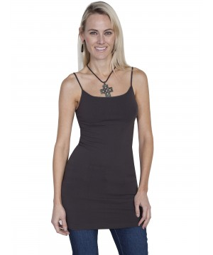 Honey Creek Spring Star Seamless Slip in Charcoal by Scully Leather
