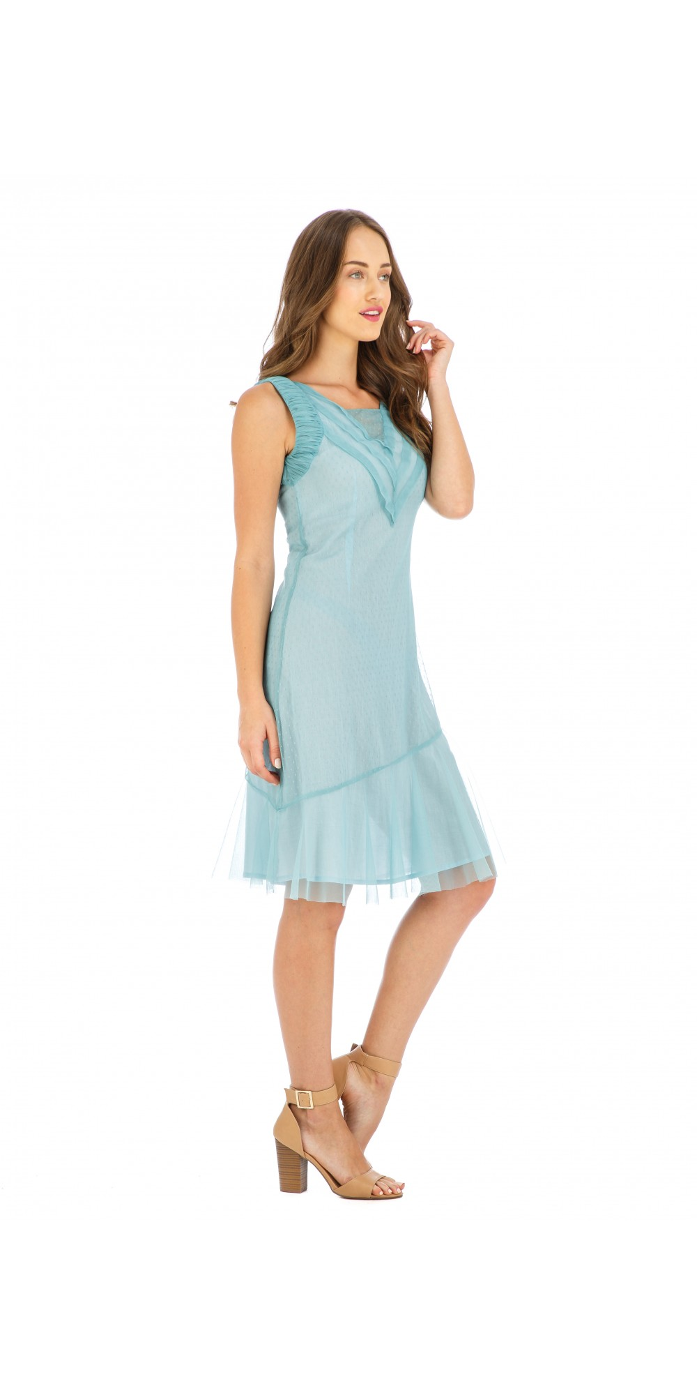 Age of Love Stella AL-632 Vintage Style Party Dress in Turquoise by ...