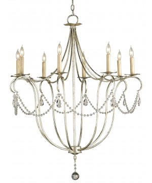 Crystal Lights Chandelier by Currey and Company