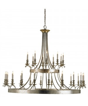 Lodestar Chandelier by Currey and Company