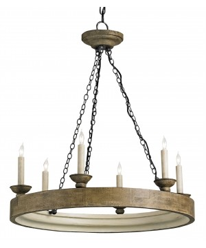 Beachhouse Chandelier by Currey and Company