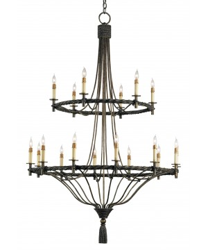Priorwood Chandelier by Currey and Company