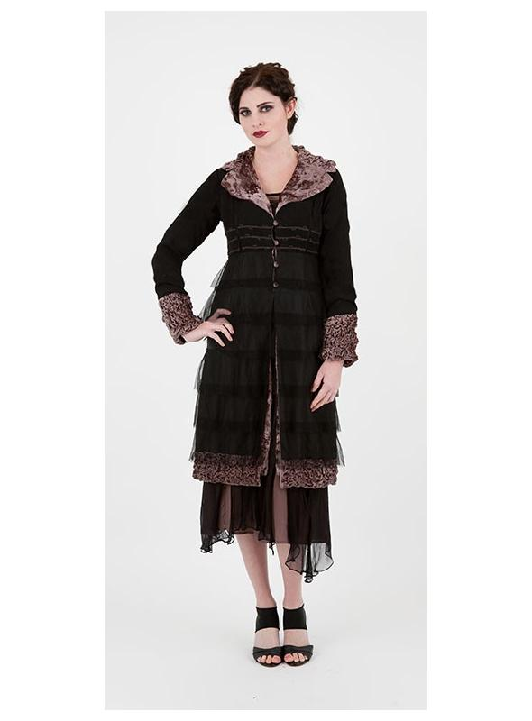Stroll Along The Thoroughfare Empire Waist Coat by Nataya - SOLD OUT