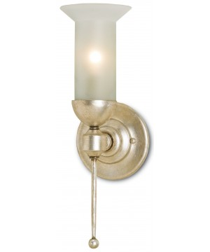 Pristine Silver Wall Sconce by Currey and Company