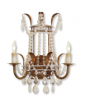 Laureate Wall Sconce by Currey and Company