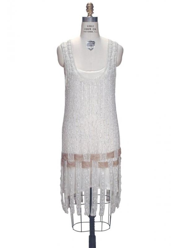 Flapper Style Luxury Party Dress in Crystal by The Deco Haus