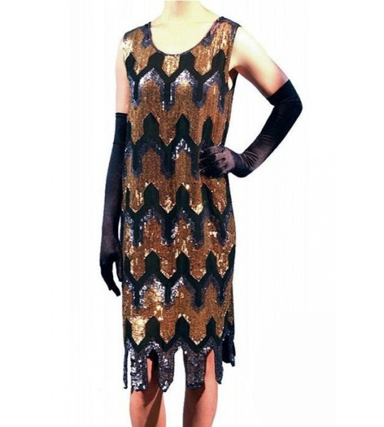 Gatsby Style Deco Dress by The Deco Haus