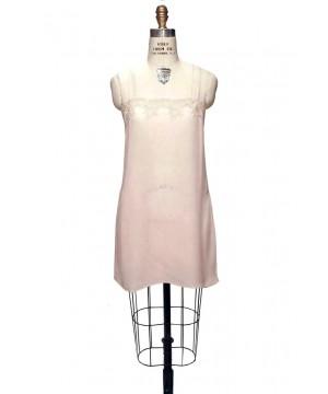 Charleston Silk Slip in Champagne Pink by The Deco Haus